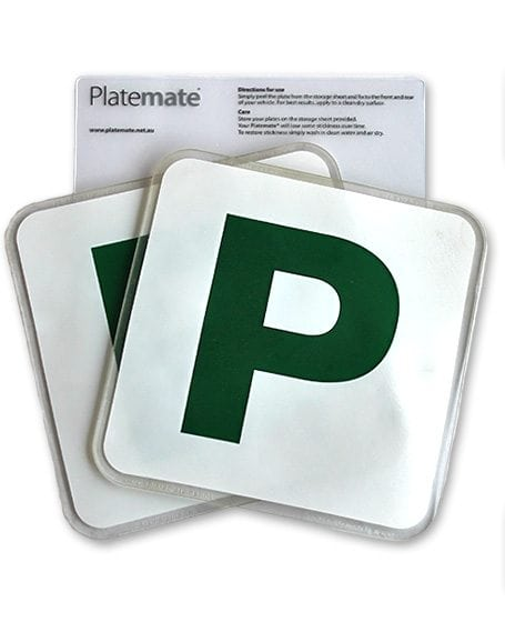 how to get green p plates